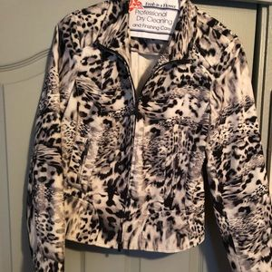 Carlisle Animal print jacket